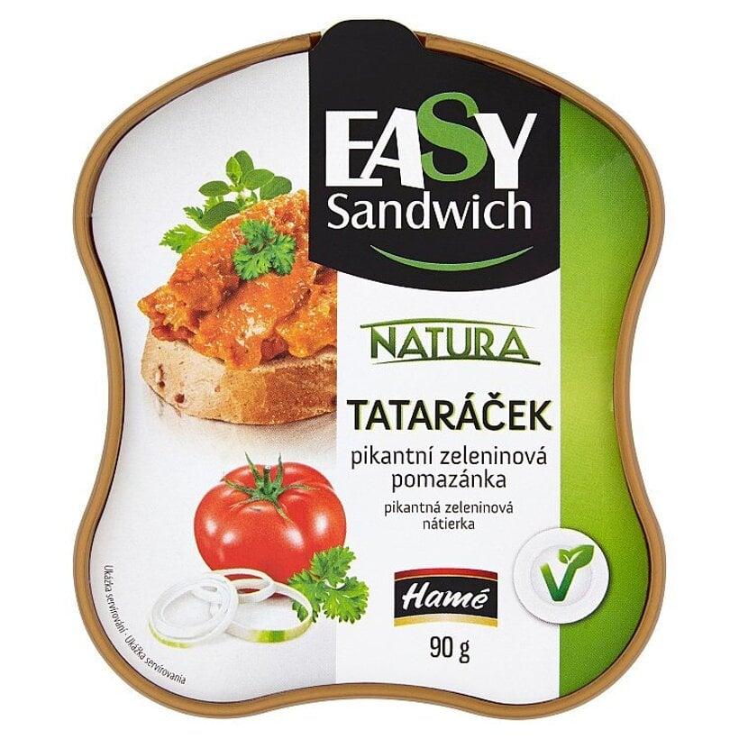 Hamé Easy Sandwich Natura tataráček pikantná zeleninová nátierka 90 g