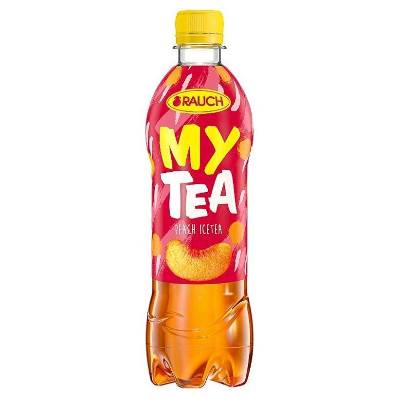 Rauch My Tea Ľadový čaj s broskyňovou príchuťou 0,5 l