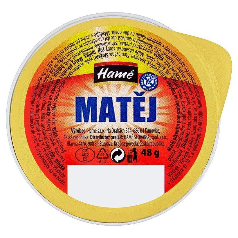 Hamé Matej pikantná nátierka na hrianky 48 g