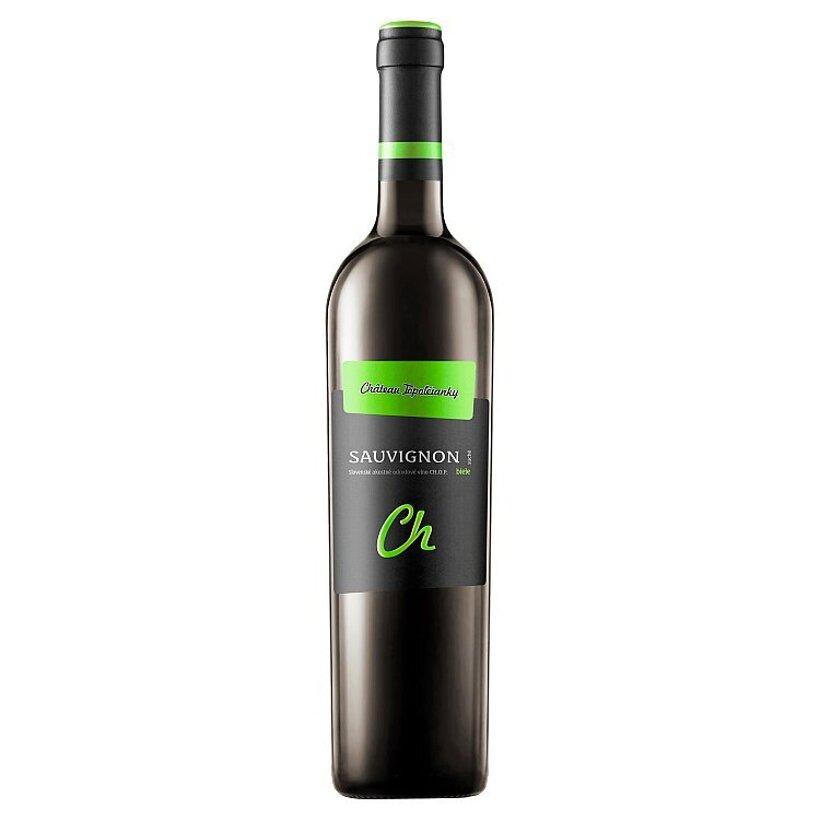 Château Topoľčianky Sauvignon slovenské akostné odrodové víno CH.O.P. biele suché 0,75 l