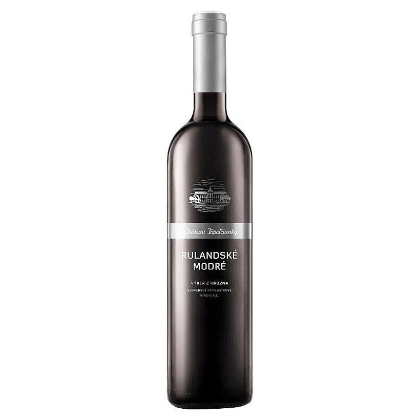 Château Topoľčianky Rulandské modré slovenské prívlastkové víno D.S.C červené suché 0,75 l