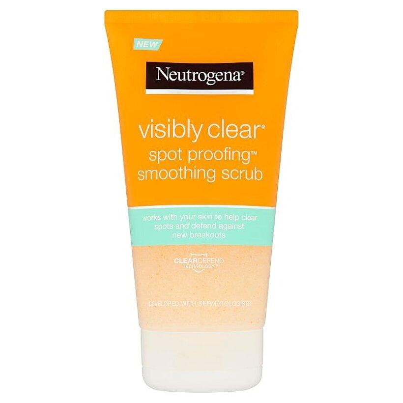 Neutrogena Visibly Clear Spot Proofing vyhladzujúci peeling 150 ml