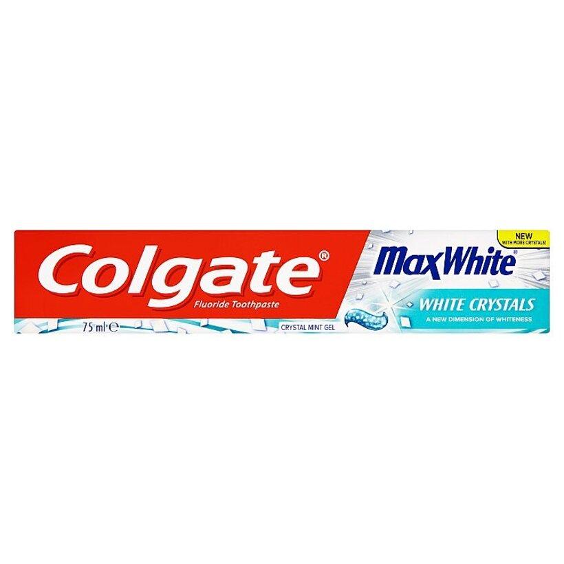 Colgate MaxWhite Crystal Mint Gel zubná pasta 75 ml