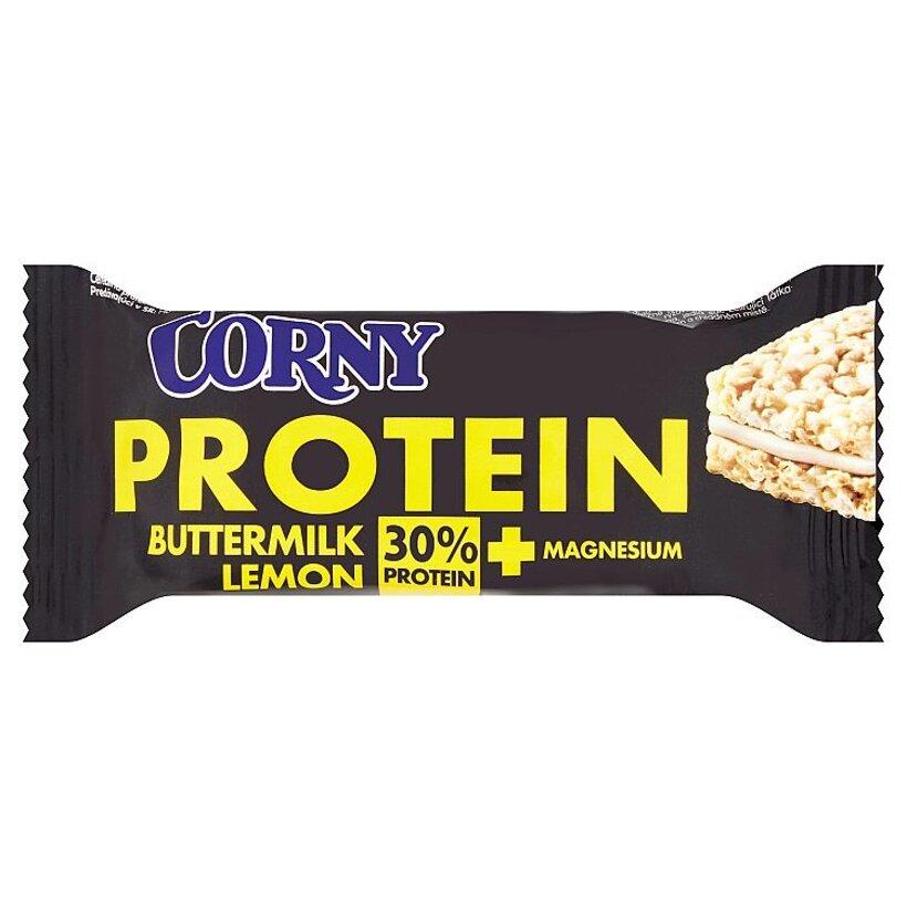 Corny Protein Cereálna proteínová tyčinka s náplňou z cmaru s citrónovou príchuťou 35 g