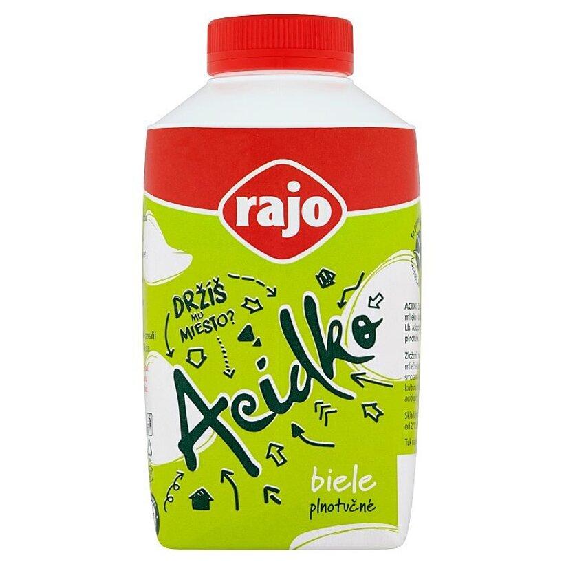 Rajo Acidko Zakysané mlieko biele plnotučné 450 g