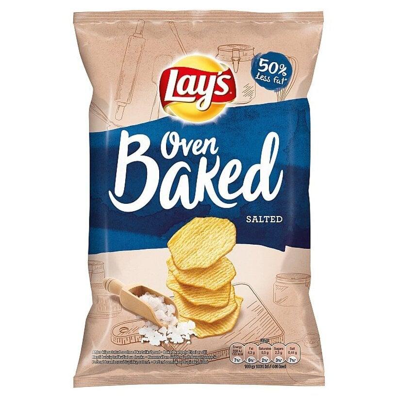 Lay's Pečené zemiakové lupienky slané 65 g