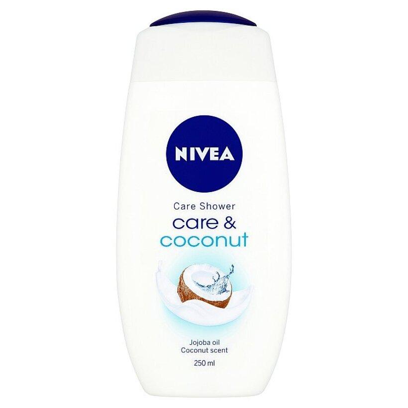 Nivea Care & Coconut Ošetrujúci sprchový gél 250 ml