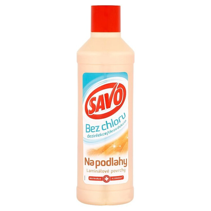 Savo Na podlahy laminátové povrchy dezinfekcia 1000 ml