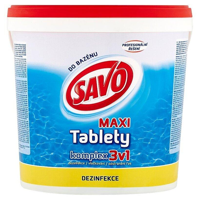 Savo Do Bazénu Maxi chlórové tablety komplex 3v1 4 kg