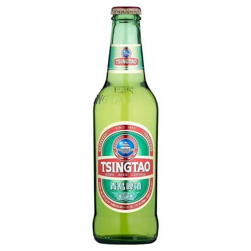 Tsingtao Pivo výčapný ležiak svetlý 11 % 330 ml
