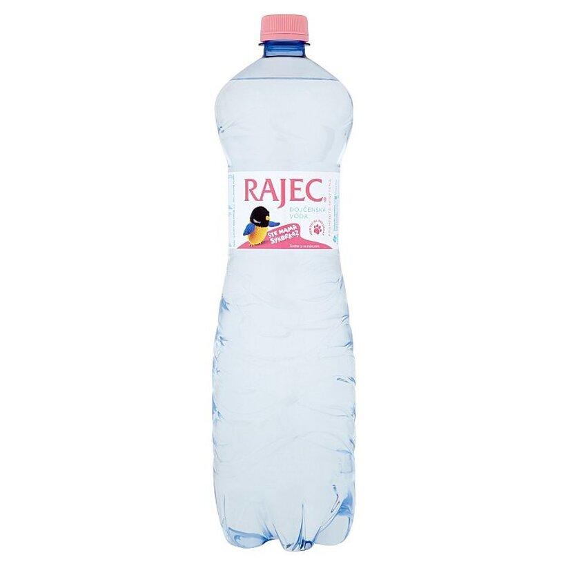 Rajec Dojčenská voda pramenitá nesýtená 1,5 l
