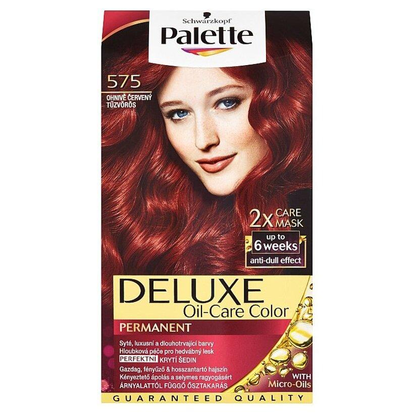 Schwarzkopf Palette Deluxe farba na vlasy Ohnivočervený 575