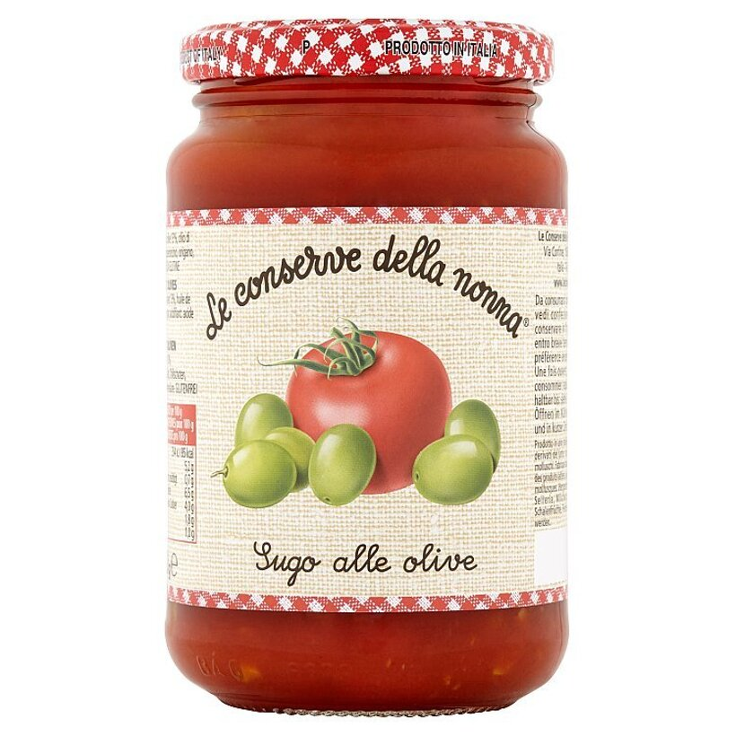 Le Conserve della Nonna Paradajkové pyré s olivami 350 g