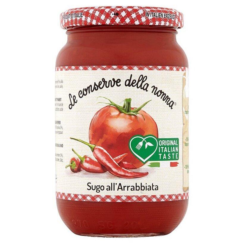 Le Conserve della Nonna Pálivá paradajková omáčka s paprikou 350 g