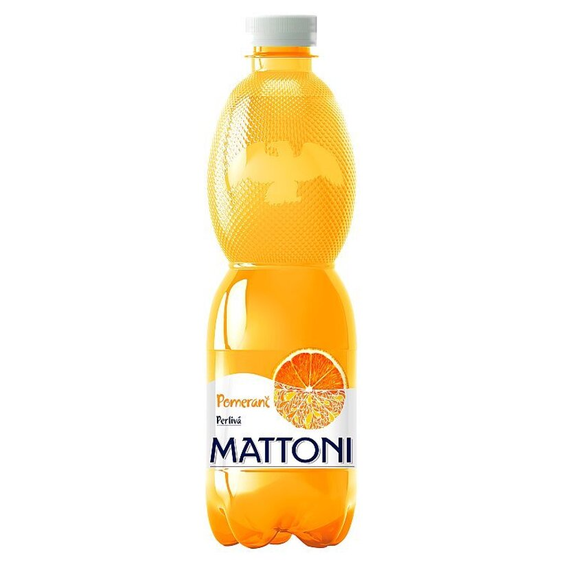 Mattoni Pomaranč perlivá 0,5 l