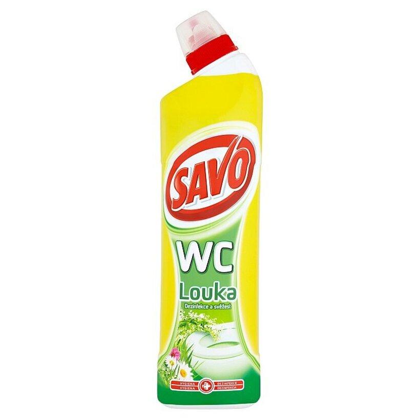 Savo WC Lúka tekutý čistiaci a dezinfekčný prípravok 750 ml