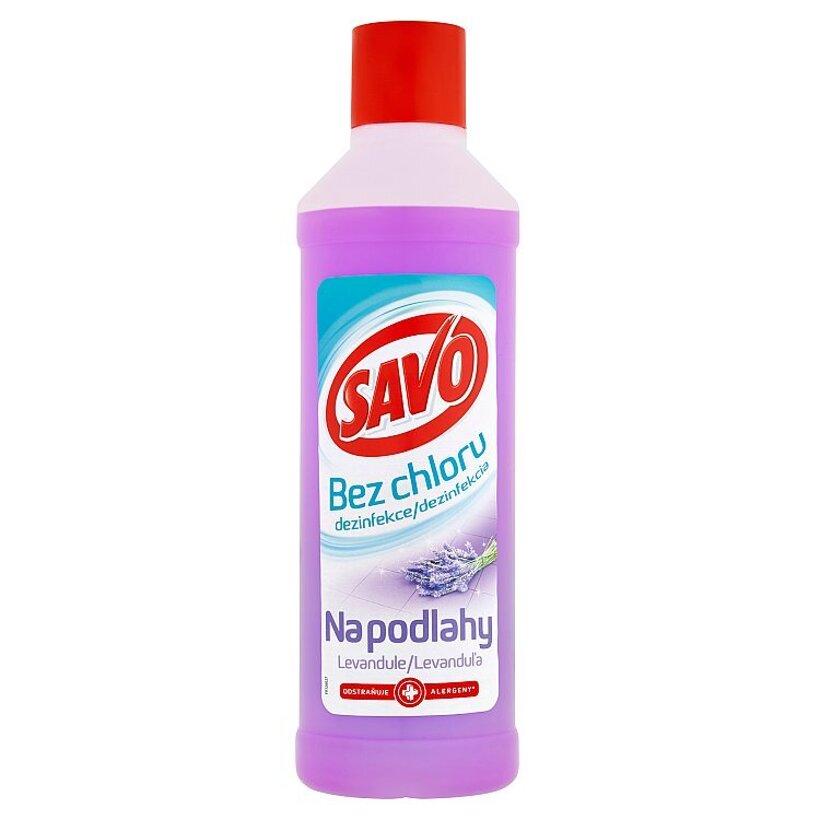 Savo Dezinfekcia na podlahy levanduľa 1000 ml