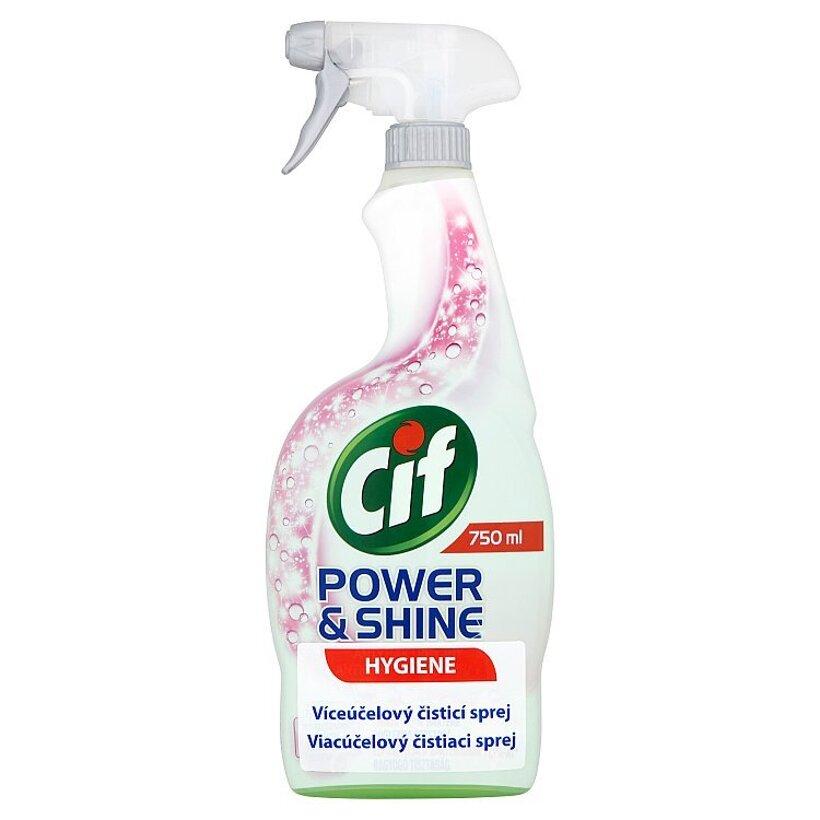 Cif Power&Shine Hygiene viacúčelový čistiaci sprej 750 ml