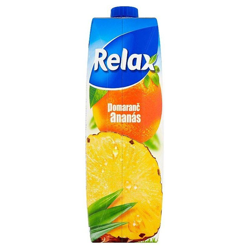 Relax Pomaranč ananás 1 l