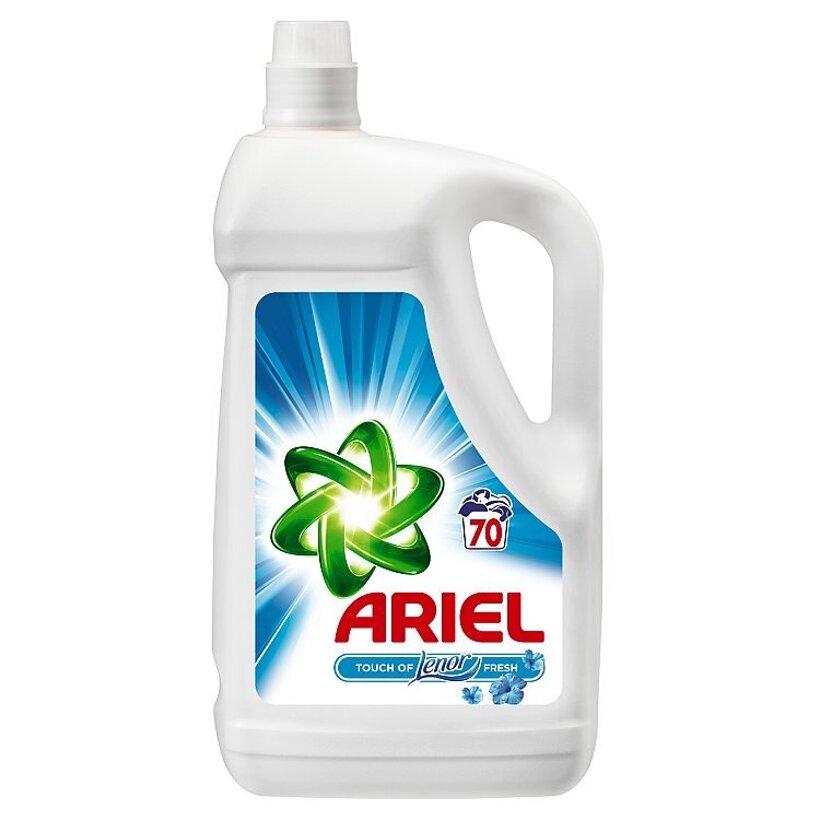 Ariel Touch Of Lenor Fresh Tekutý Prací Prostriedok 4,55 l Na 70 Praní