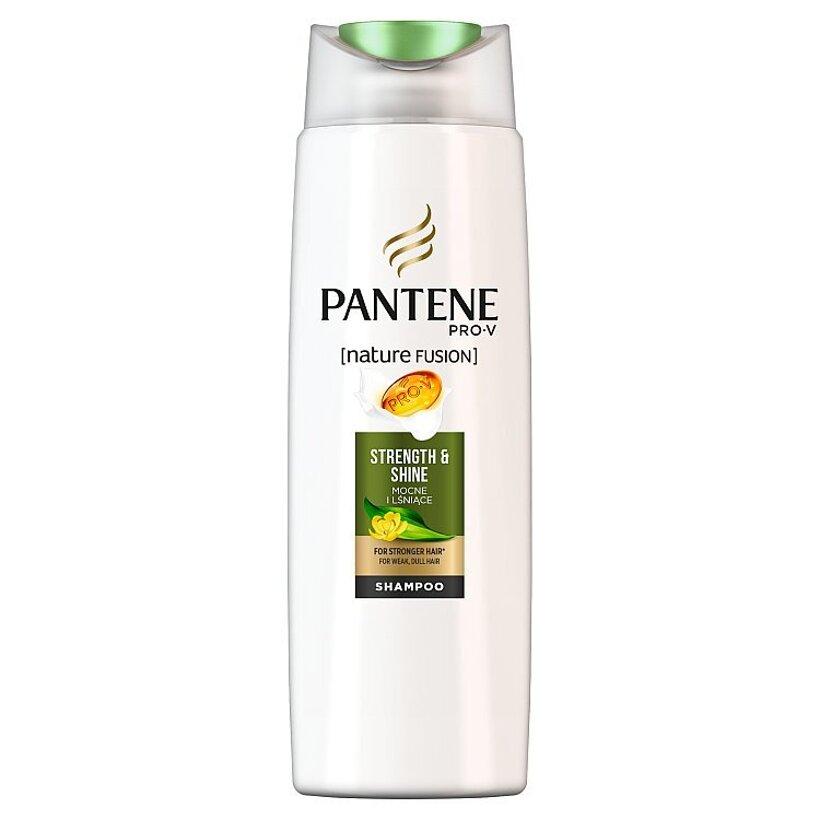 Pantene Pro -V Nature Fusion Strength & Shine Šampón Na Oslabené, Matné A Poškodené Vlasy 250 Ml