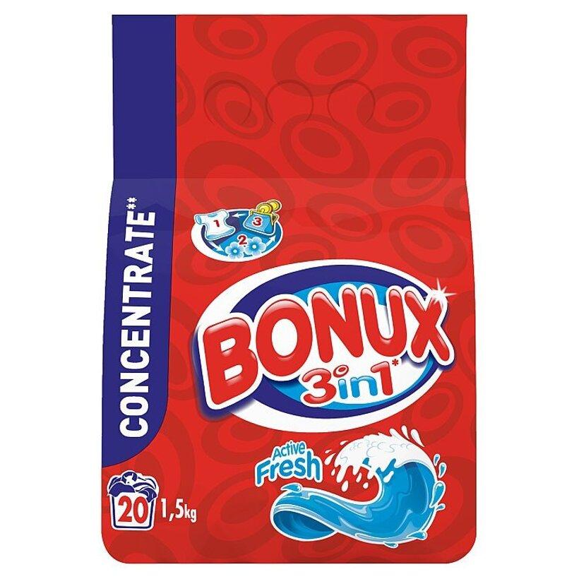 Bonux Active Fresh Prací Prášok 1,5 kg
