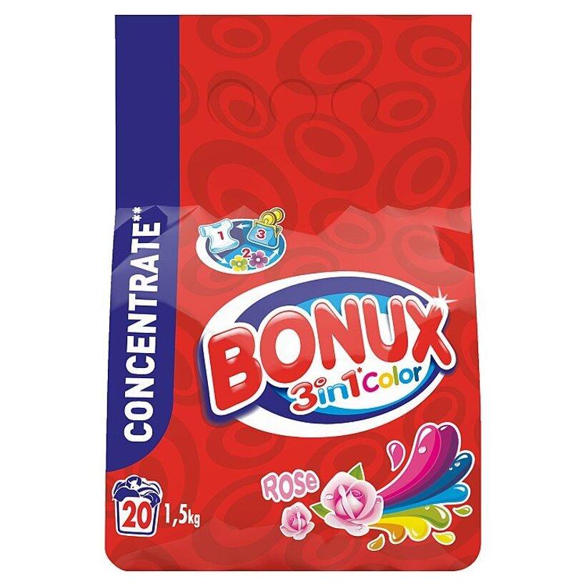 Bonux Rose Color Prací Prášok 1,5 kg