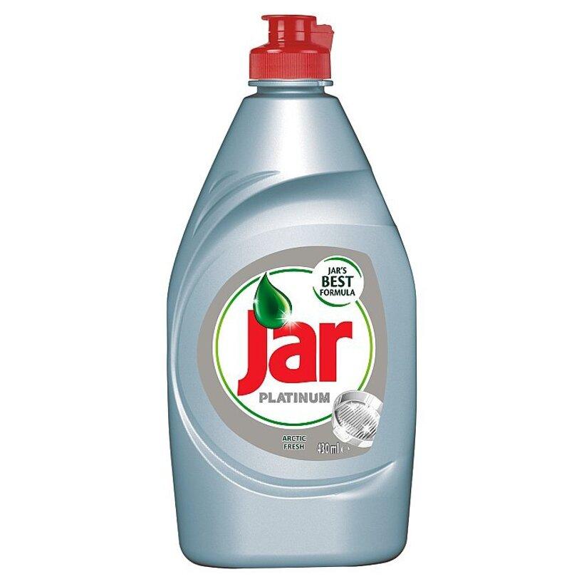 Jar Platinum Arctic Fresh prostriedok na umývanie riadu  430 ml