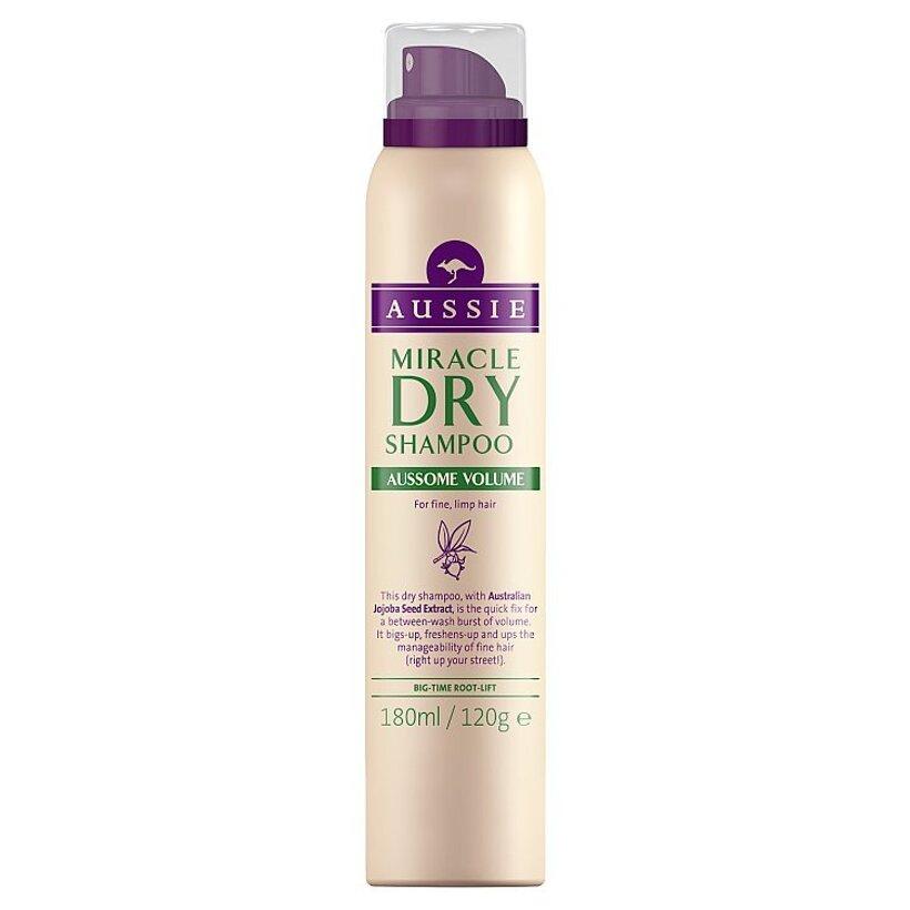 Aussie Aussome Volume Miracle Suchý Šampón Na Jemné Vlasy Bez Objemu 65 ml