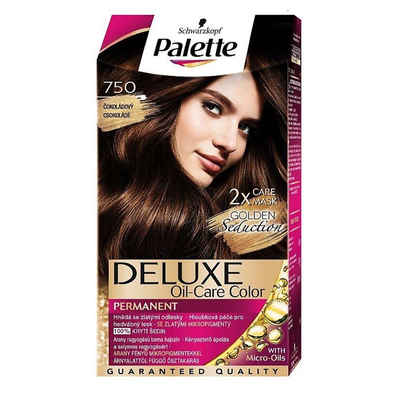 Schwarzkopf Palette Deluxe farba na vlasy Čokoládový 750