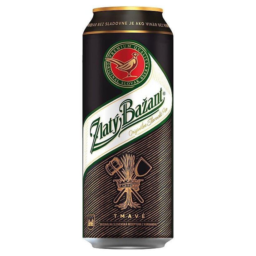 Zlatý Bažant 10% tmavé výčapné pivo 500 ml