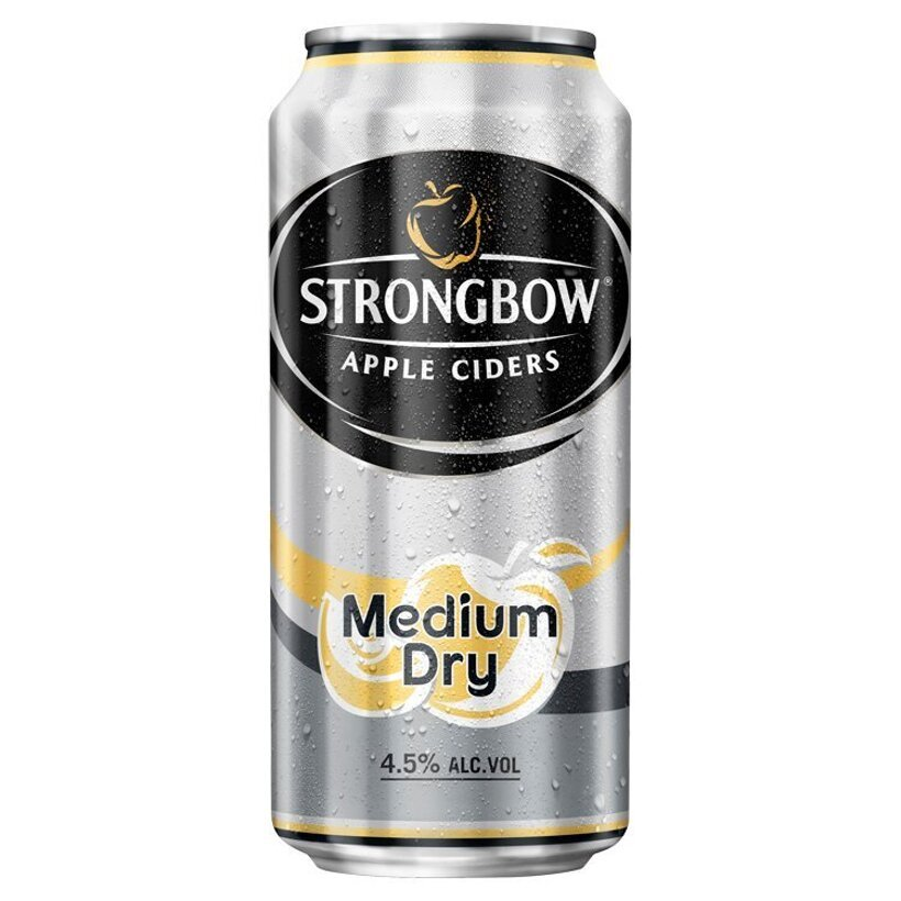 Strongbow Apple Ciders Medium Dry cider 440 ml