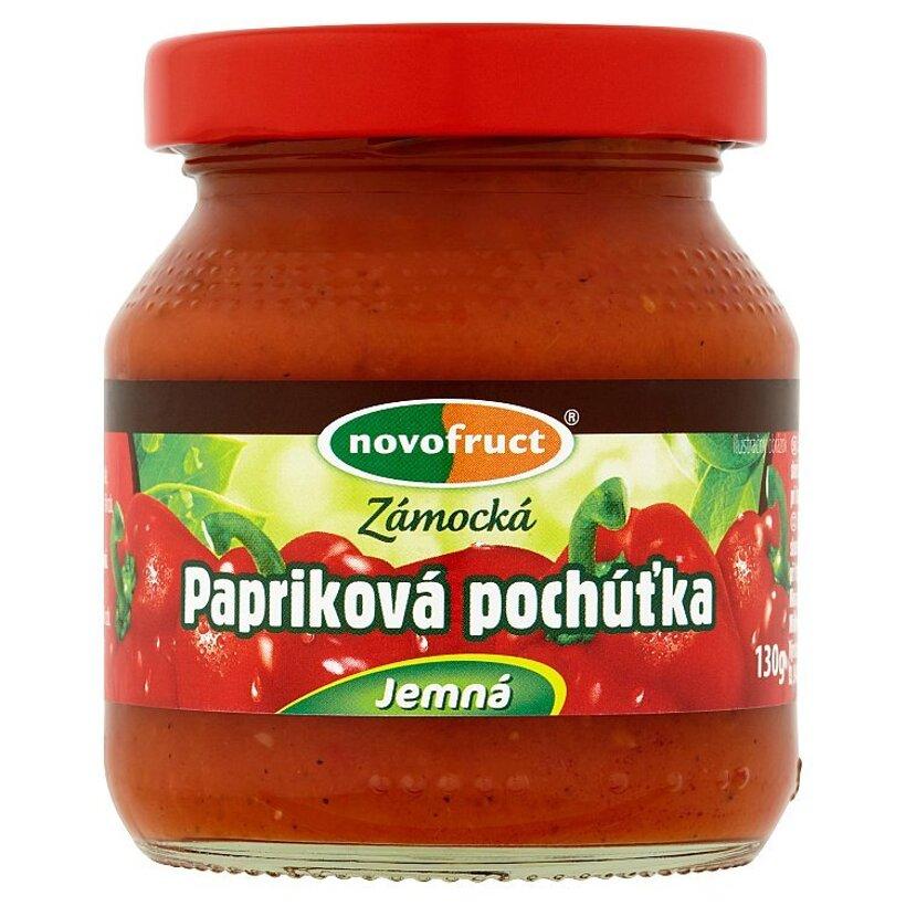 Novofruct Zámocká papriková pochúťka jemná 130 g