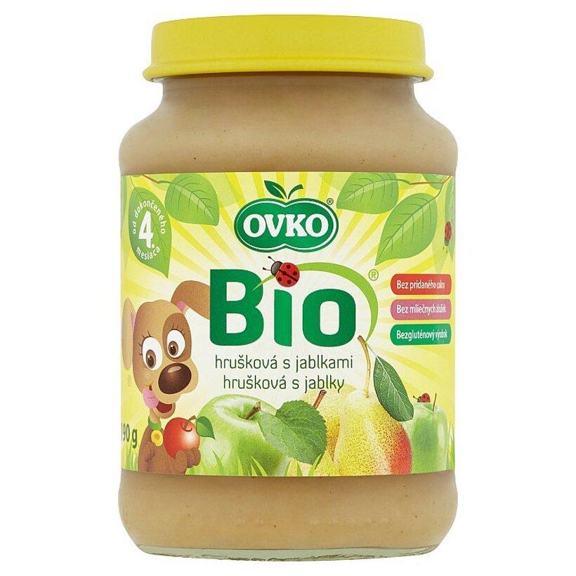 Ovko Bio Hrušková s jablkami 190 g