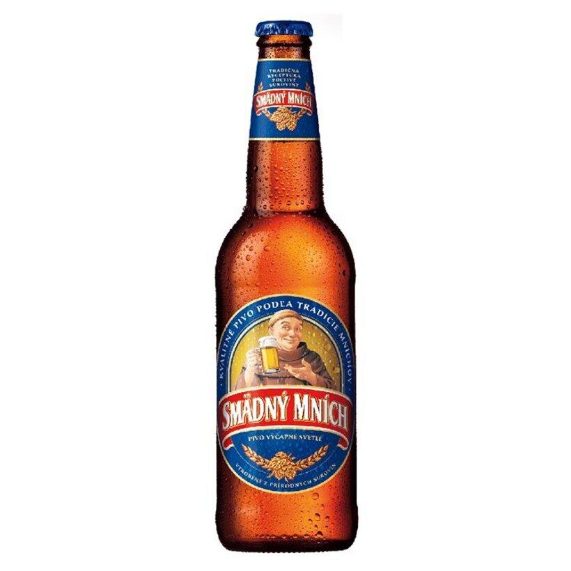 Smädný Mních 10% pivo výčapné svetlé 500 ml