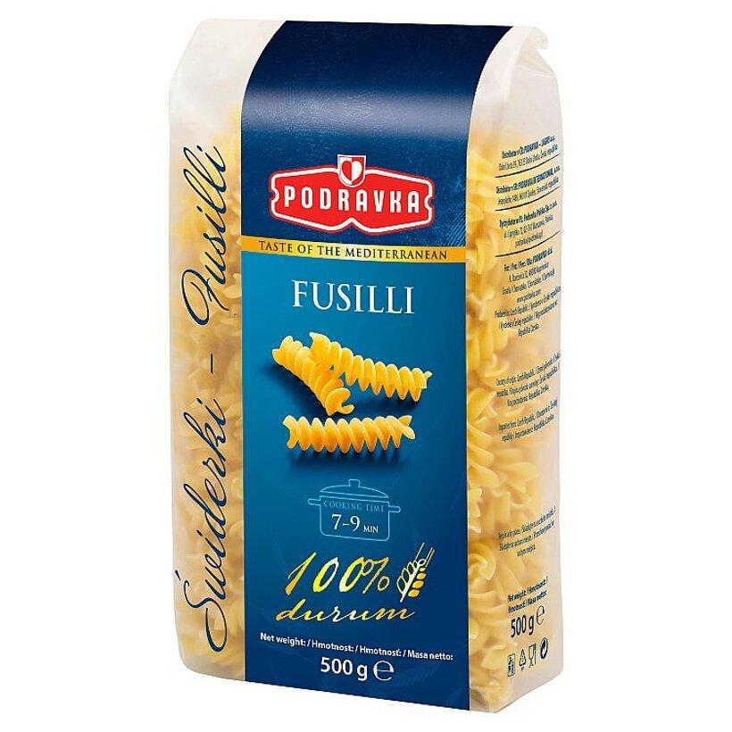 Podravka Fusilli semolínové cestoviny 500 g