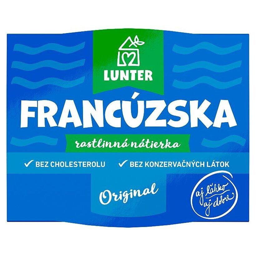 Lunter Francúzska rastlinná nátierka 115 g