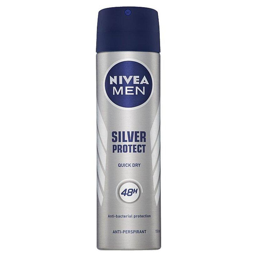 Nivea Men Silver Protect Sprej antiperspirant 150 ml