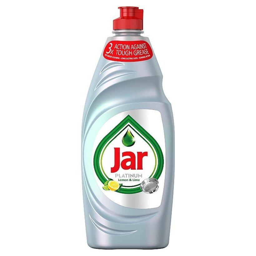 Jar Platinum Lemon & Lime S 3-Násobnou Účinnosťou Prostriedok Na Umývanie Riadu 650 ml