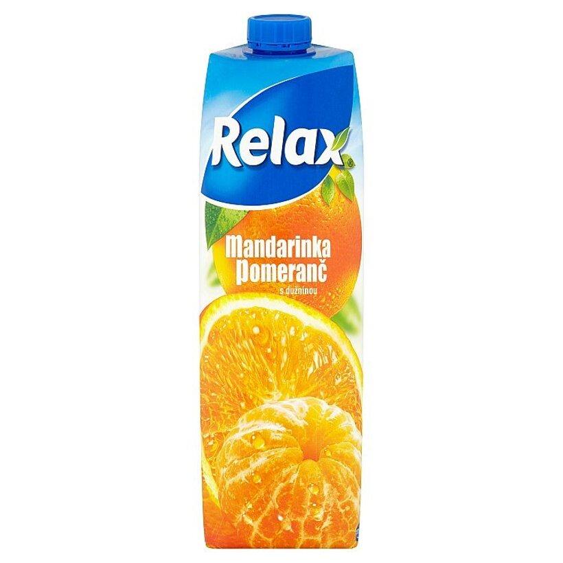 Relax Mandarínka pomaranč s dužinou 1 l