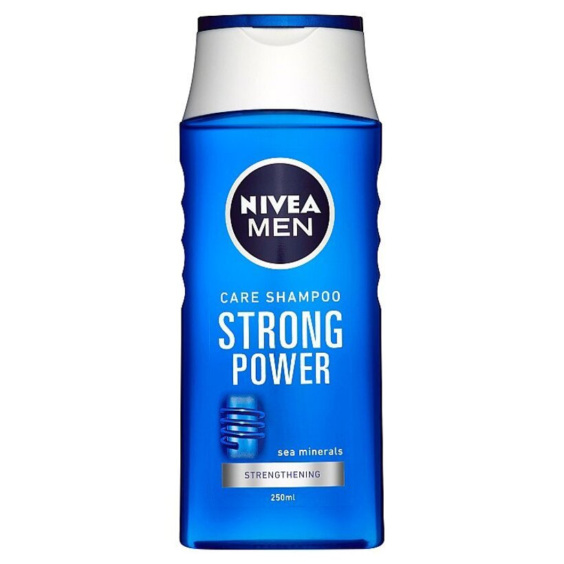 Nivea Men Strong Power Šampón pre mužov 250 ml