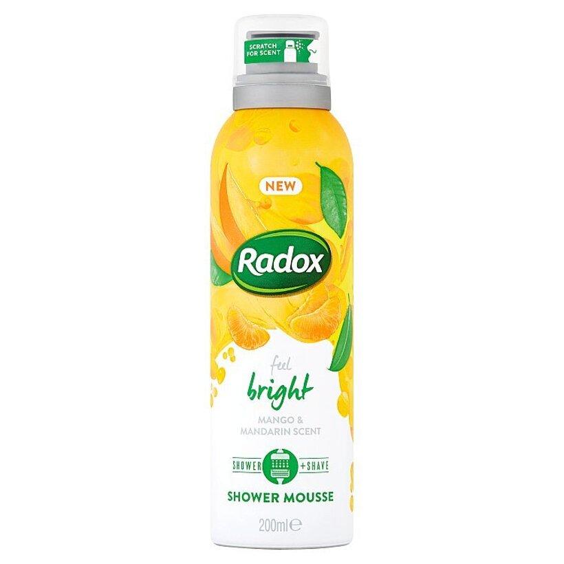 Radox Feel Bright sprchovacia pena 200 ml