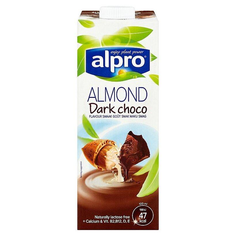 Alpro Mandľový nápoj s príchuťou horkej čokolády 1 l