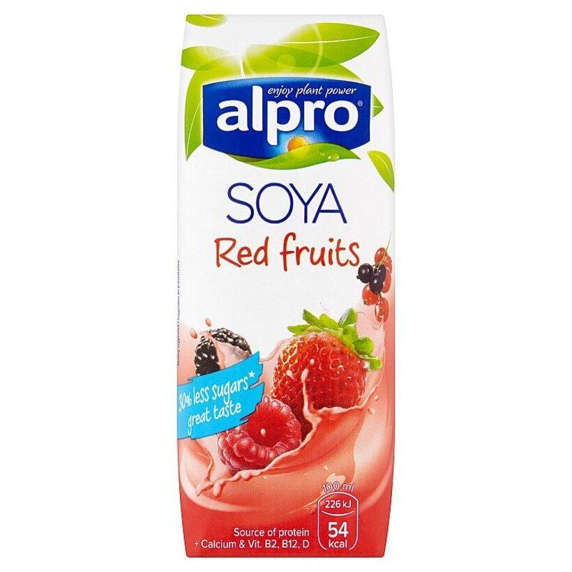 Alpro Sójový nápoj so šťavou z červeného ovocia 250 ml