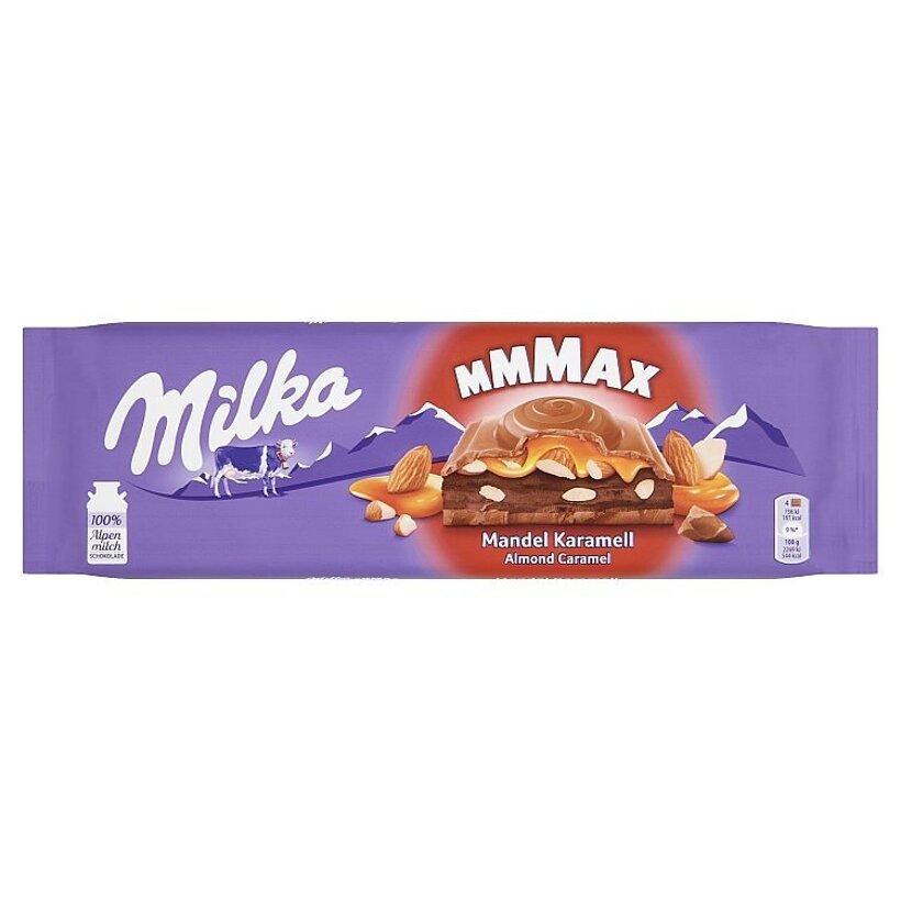 Milka Mmmax Almond Caramel 300 g