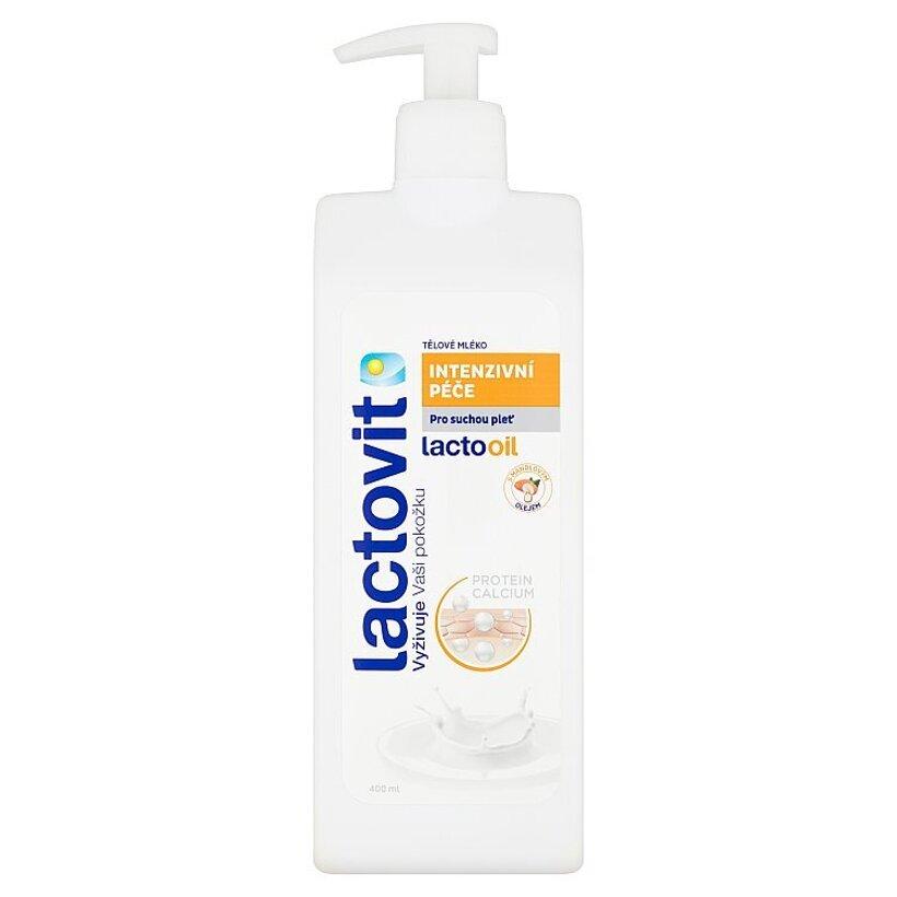 Lactovit Lactooil intenzívna starostlivosť telové mlieko 400 ml