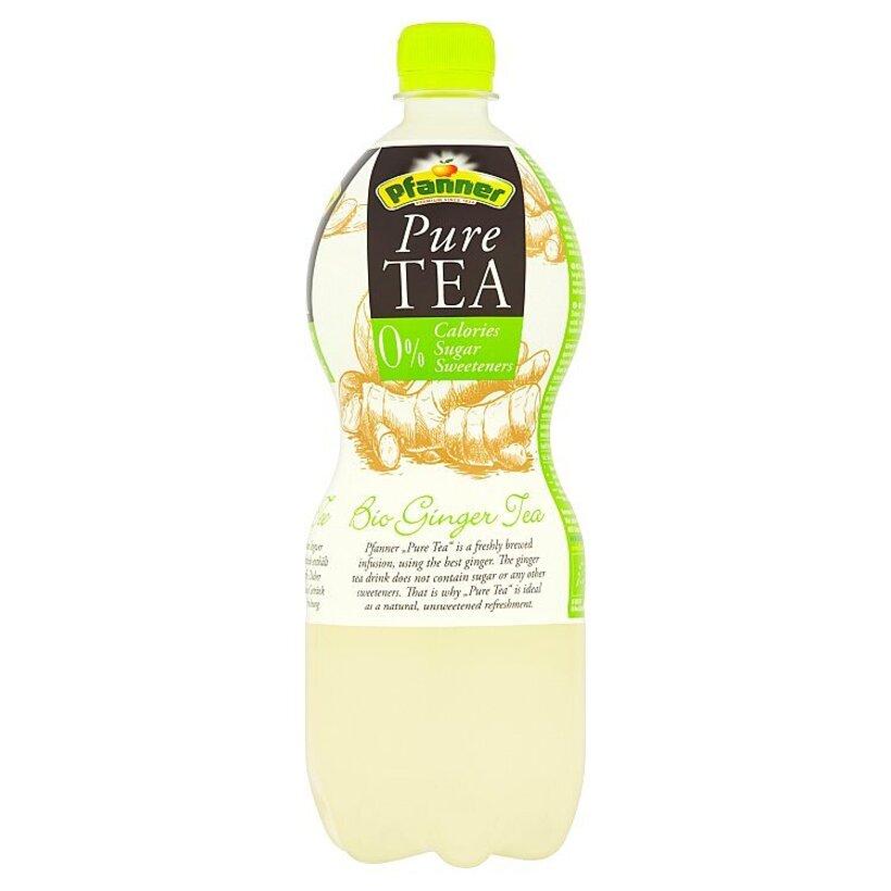 Pfanner Pure Tea bio čajový nápoj so zázvorovo-citrónovou príchuťou 1 l