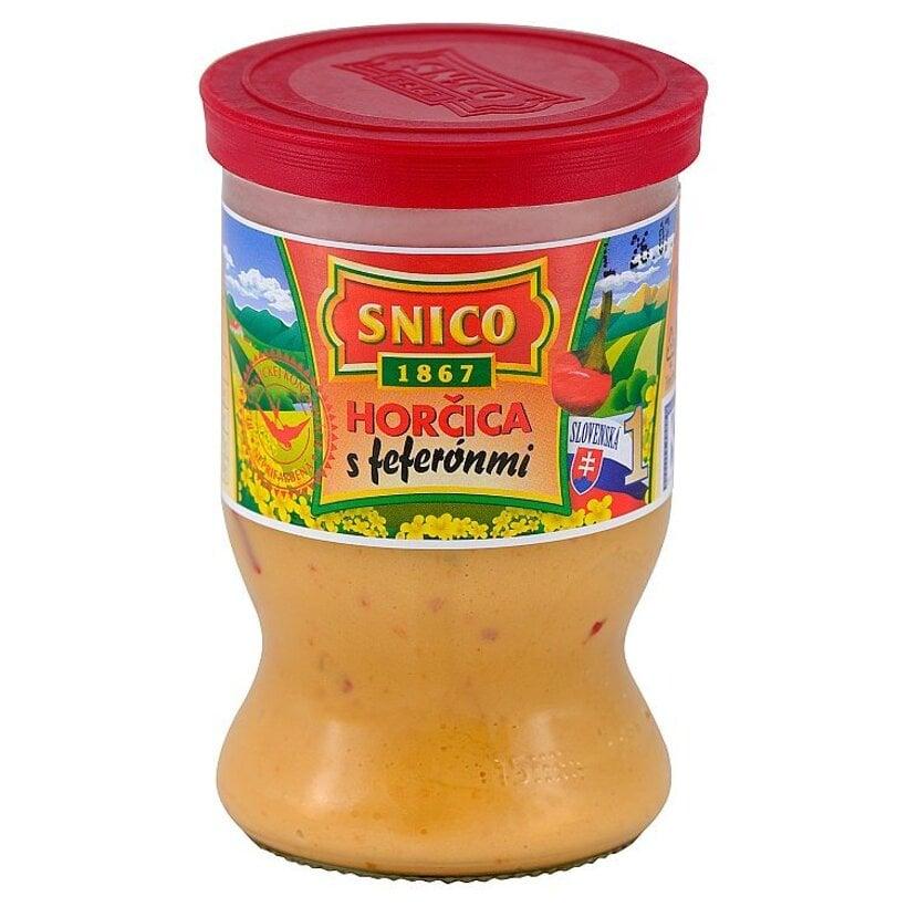 Snico Horčica s feferónmi 180 g