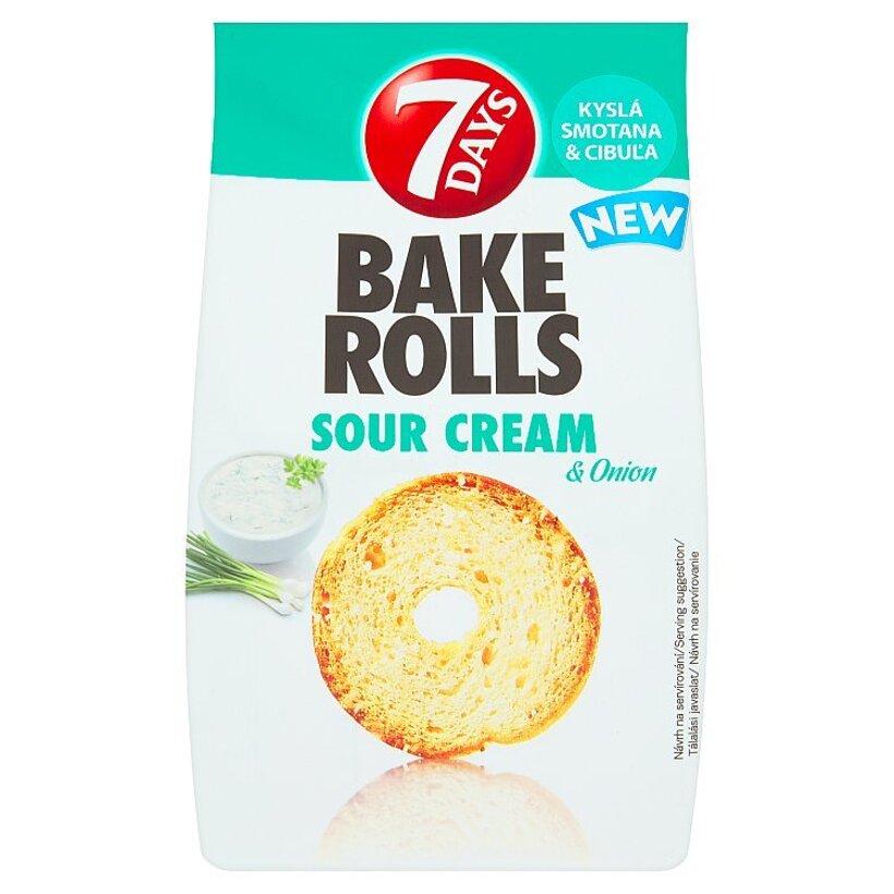 7 Days Bake Rolls kyslá smotana & cibuľa 80 g