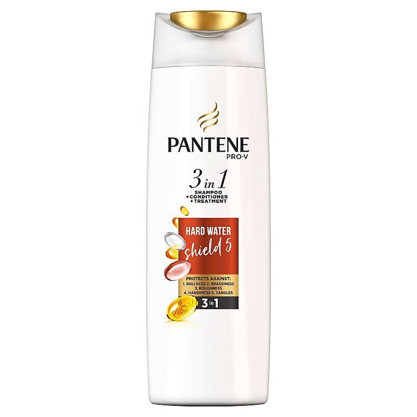 Pantene Pro-V Hard Water Šampón 3 V 1 360ml